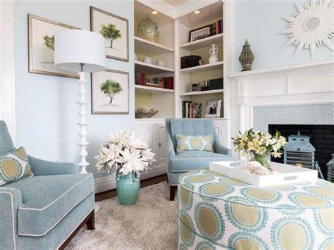 transitional pale blue living room hgtv