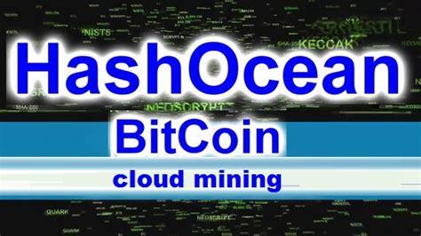 bitcoin mining return on investment bitcoin forum hashocean cloud mining review