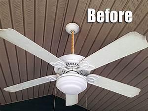 Hometalk thrifty diy outdoor fan makeover