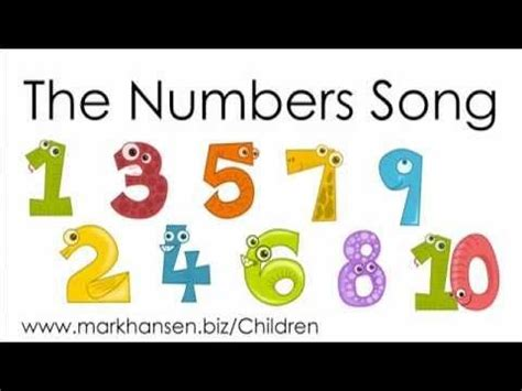 counting songs  children   numbers song kids