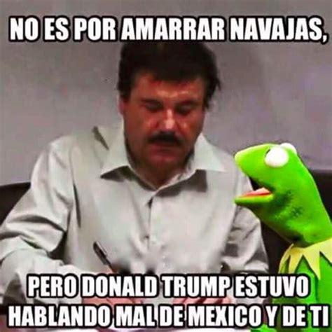 Memes De Trump - donald trump vs el chapo los memes m 225 s divertidos fotos memes humor and mexican problems
