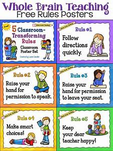 Middle school classroom rules clipart