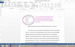 Essay Word Count References In Apa