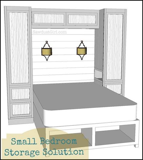 tiny bedroom storage ideas small bedroom project wardrobe storage and organzation solution sawdust girl 174