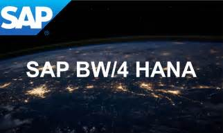 SAP Hana BW 4