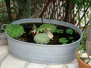Bassin De Terrasse : petit bassin pour terrasse ~ Premium-room.com Idées de Décoration