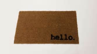 Make A Doormat by How To Make A Personalized Door Mat Diy Home Tutorial