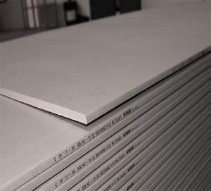 Plaque De Platre : plaque pl tre ba13 standard gyptec ba13std tp mat riaux ~ Melissatoandfro.com Idées de Décoration