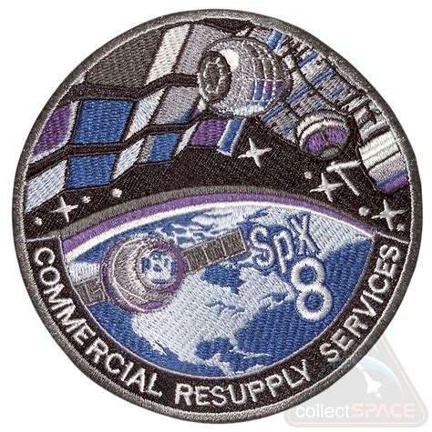 SpaceX CRS-8 patch: Eighth ISS resupply flight ...