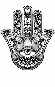 hamsa hand design by andywillmore on DeviantArt