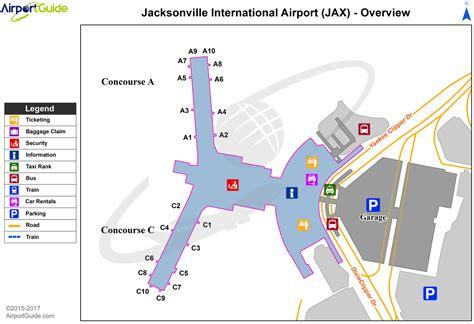 Jacksonville - Jacksonville International (JAX) Airport ...