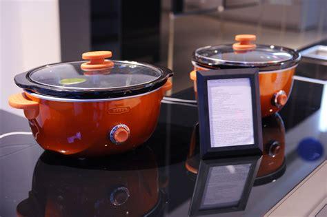 simple idea orange kitchen appliances pics desain