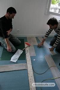 Pose Lames Pvc : poser un parquet pvc ciloubidouille ~ Premium-room.com Idées de Décoration
