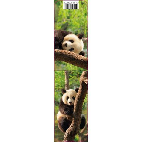 marque page magnetique panda marcoeagle