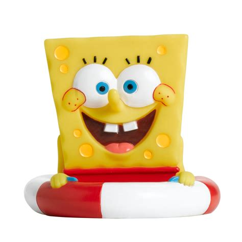 spongebob bathroom decor walmart kmart spongebob squarepants toothbrush holder only 5