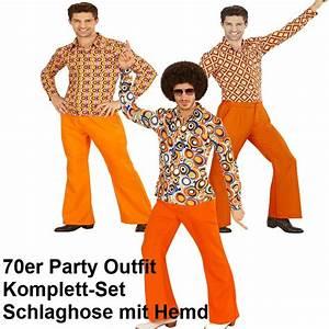 70 Er Jahre Outfit : 70er jahre herren schlaghose hemd orange kost m disco hippie schlagermove ebay ~ Frokenaadalensverden.com Haus und Dekorationen