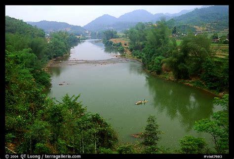 picturephoto ky cung river valley northest vietnam