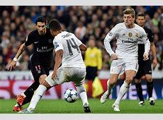 Match Psg Real Madrid 2015