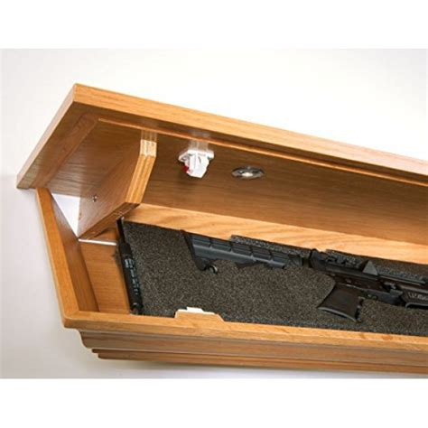 shelf gun safe covert cabinets lg 48 gun cabinet wall shelf hid