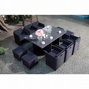 Salon De Jardin 12 Personnes : table de jardin 12 personnes achat vente table de ~ Dailycaller-alerts.com Idées de Décoration