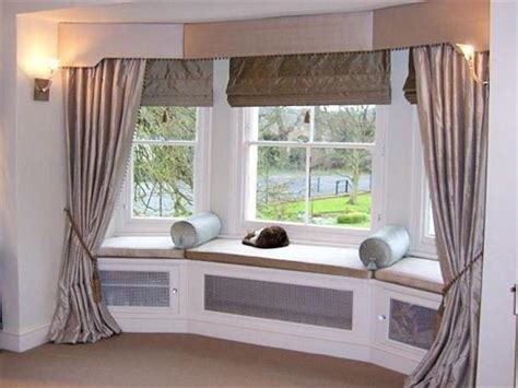 Best Window Treatments For Bay Windows-home Interior
