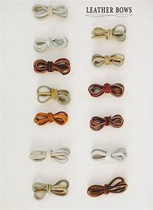 leather bow drawer pulls • A Subtle Revelry
