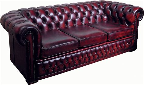 Chesterfield Settees by Chesterfield 3 Seater Leather Settees