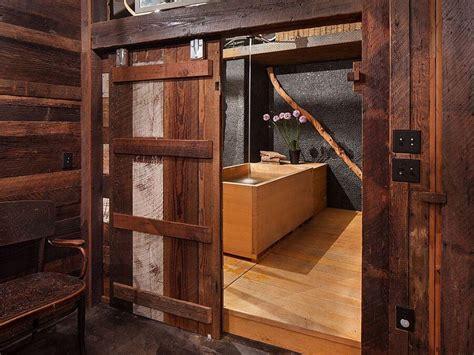 barn door ideas for bathroom 8 rustic bathroom designs with sliding barn doors https