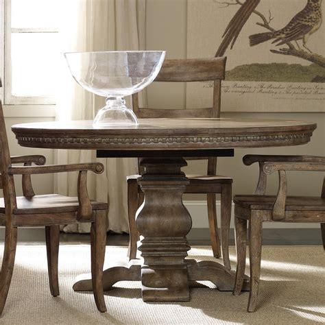 round tables with leaf extensions hooker furniture sorella 5107 75203 round dining table