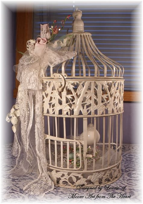 shabby chic birdcage moore art from the heart vintage shabby chic birdcage