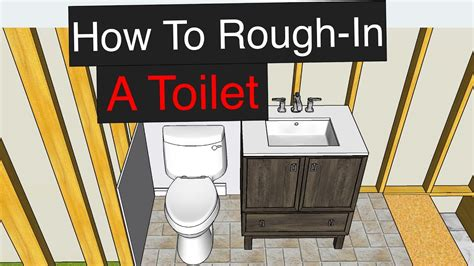 rough   toilet  dimensions youtube