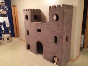 cat castle diy plywood cat castle home design garden