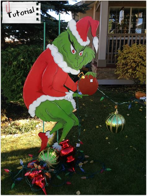 Grinch Outdoor Decorations Canada by Grinch