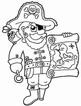 Treasure Pirate Coloring Map Awesome Maps Cool Printable Kidsplaycolor Adult Tulamama sketch template