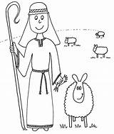 Shepherd Coloring Sheep Drawing Sunday Jesus Lost Bible Preschool Lamb Parable Madeline Printable Drawings Ever Crafts Trust Boy Sketch Hatter sketch template