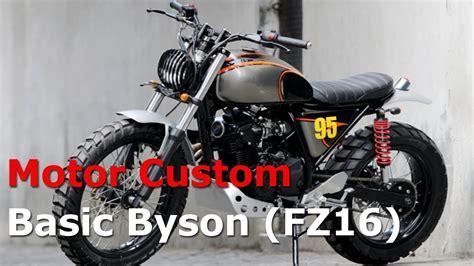 Modif Variasi Yamaha Byson by Modif Japstyle Byson Modifikasi Motor Japstyle Terbaru