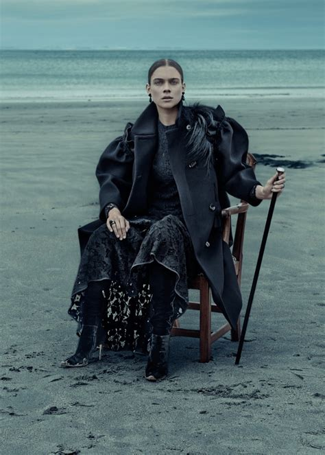neo romantic dreamy gothic wardrobe inspiration  elle