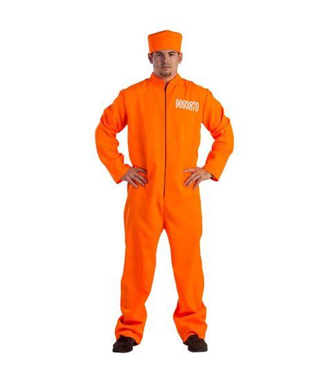 Orange Prison Jumpsuit Mens Costume - General Category