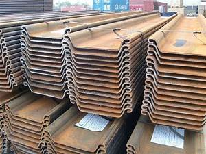 China Steel Sheet Pile (750*444*12) Photos & Pictures ...