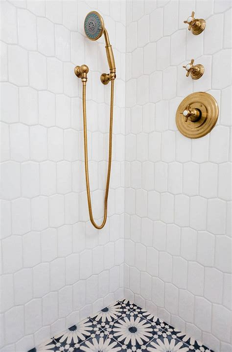 Newport Bathroom Fixtures by Accent Floor To Ceiling Grey Subway Tile Wall Makes The