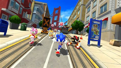 sonic forces multiplayer racing battle game