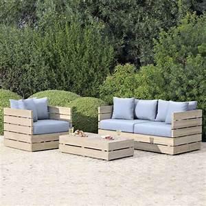 Fabriquer Un Canapé En Palette : diy bricolage fauteuil en palette bois canape kardin faire soi meme comment fabriquer un ~ Voncanada.com Idées de Décoration