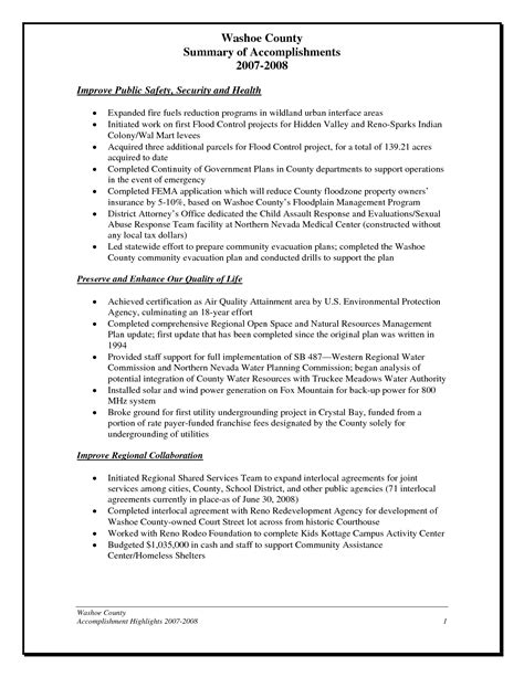 employee accomplishment report sample accomplishment report format helloalive