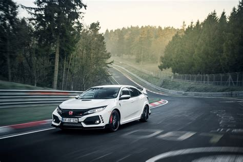 2017 Honda Type R Is Fastest Fwd Car On The Nurburgring
