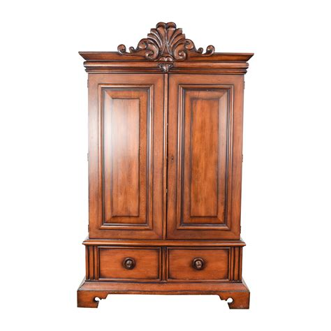 Buy Armoire - 90 ralph ralph mahogany armoire storage