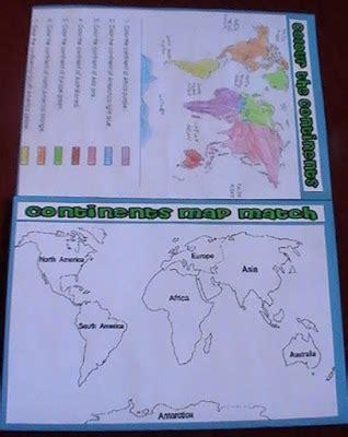 iman s home school continents oceans lapbook
