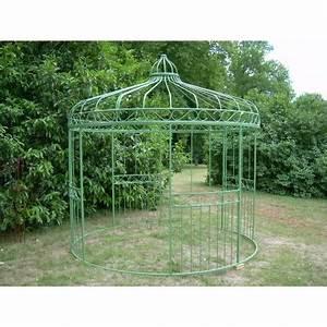 Gloriette En Fer Forgé : gloriette diametre jardin d 39 antan ~ Premium-room.com Idées de Décoration