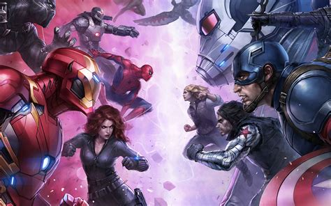 bj marvel futurefight hero anime art wallpaper