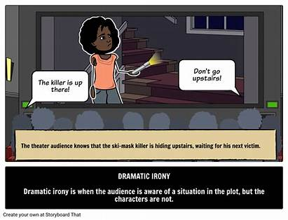 Irony Dramatic Definition Literary Examples Example Fiction