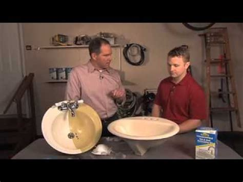 homax 174 tough as tile tub and sink refinishing kit youtube